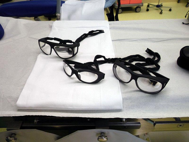 Röntgenschutzbrillen/ Pulsationsfrequenz