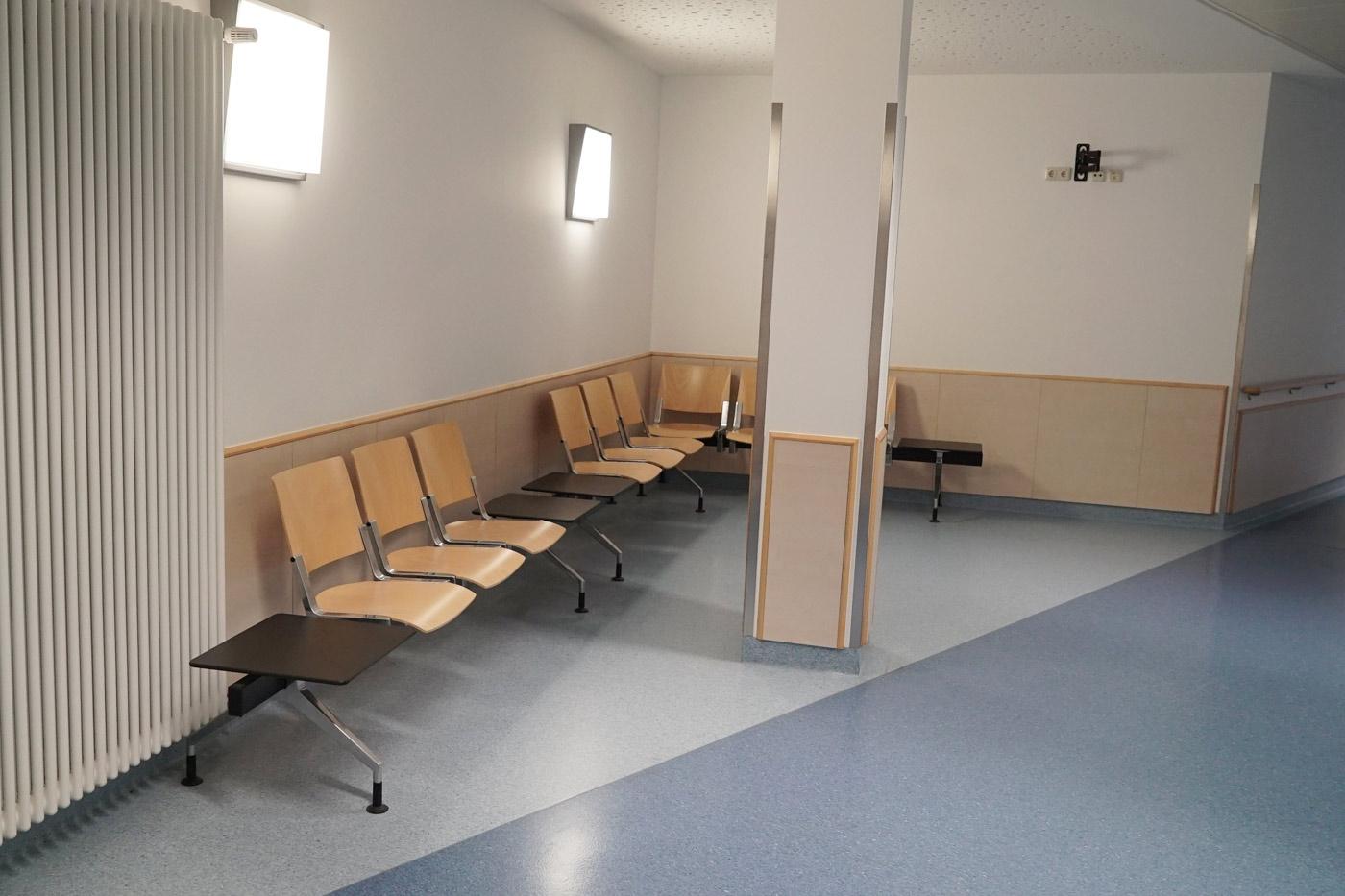 Patienten- und Besucheraufenthaltsbereiche