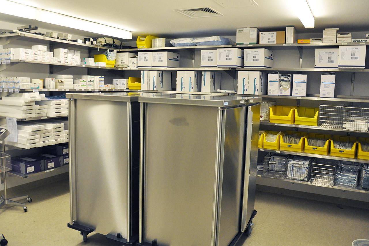 Spezielle Lagerräume für Gefahrstoffe
